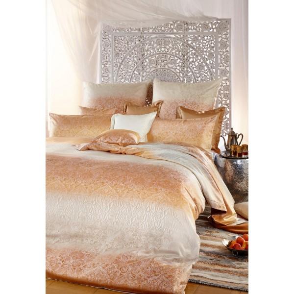 curt bauer mako brokat damast bettw sche soraya king size. Black Bedroom Furniture Sets. Home Design Ideas
