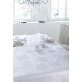 Tischwäsche Damast DESSIN 3458 DIANA - Weiß